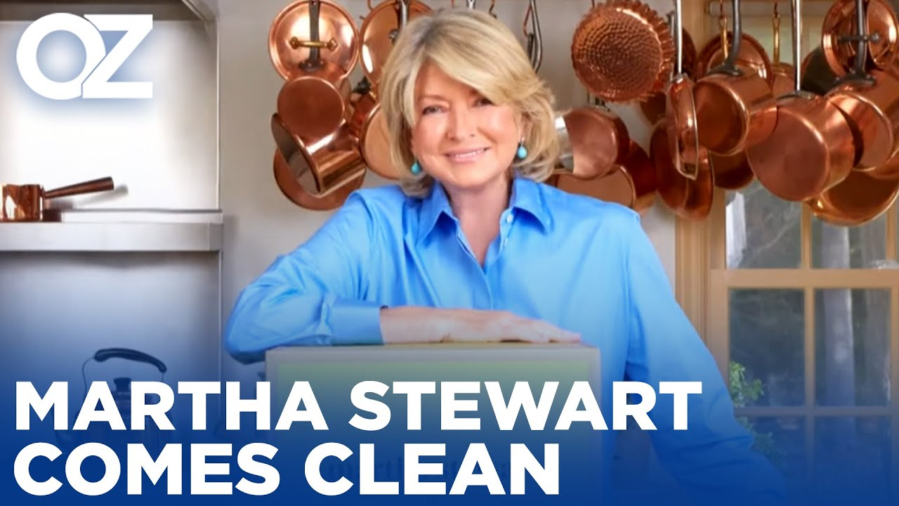 Clean Living and Tips to Improve your Health with Martha Stewart