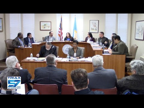 Atlantic County Freeholders Meeting 1-29-19
