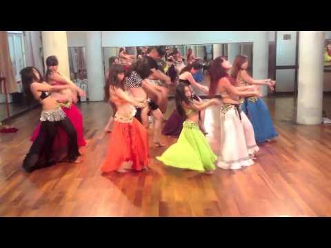 Eyes On Me Belly Dance (Group) - Celine Dion