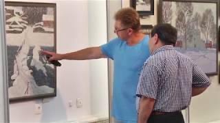Выставка памяти Алексея Солодилова