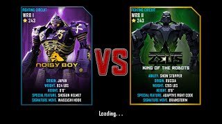 Real Steel WRB Free Sparring | NoisyBoy VS Zeus | NEW ROBOT