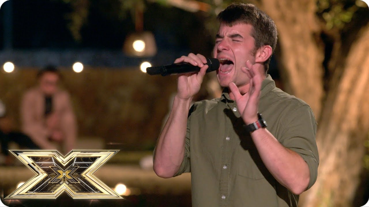 Watch X Factor's Anthony Russell very first audition from