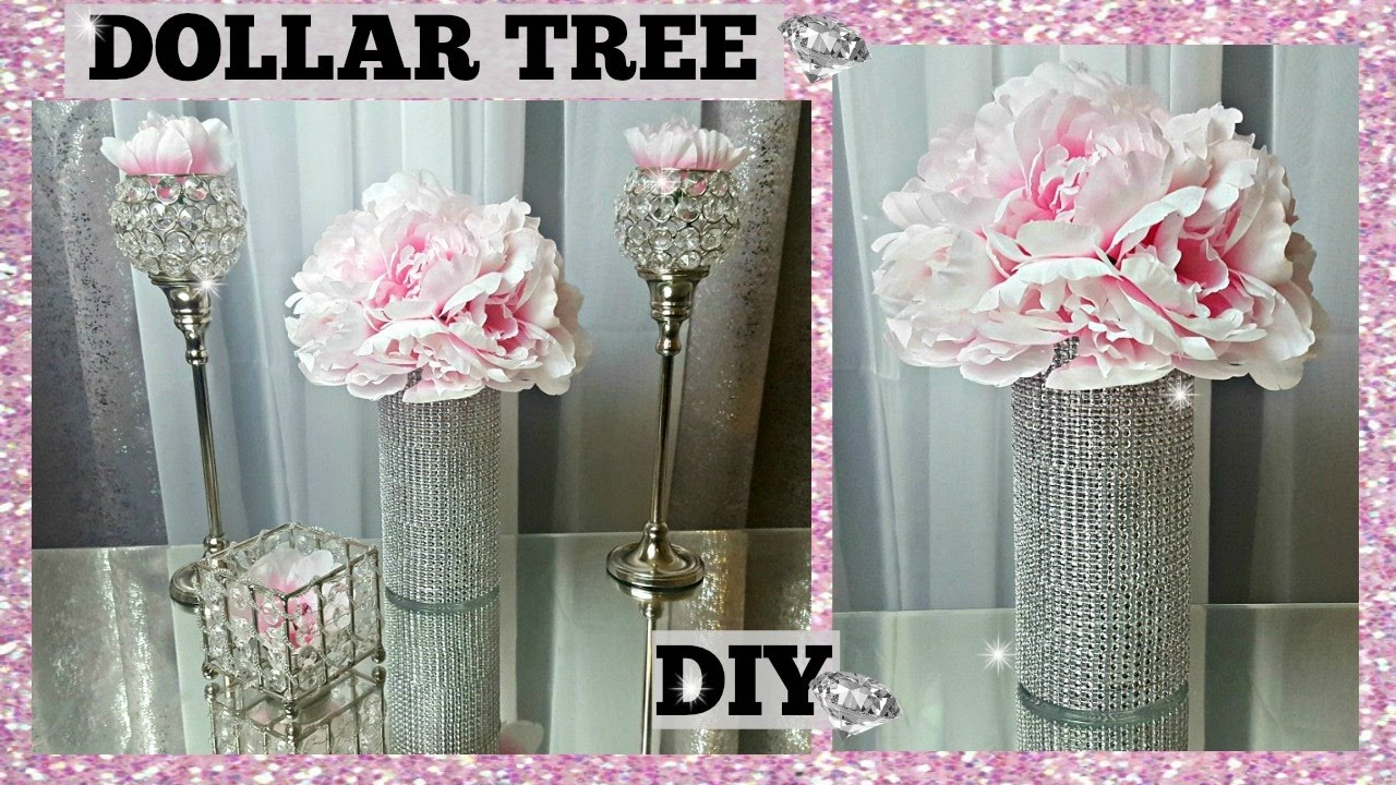 Dollar tree diy peony glam vase flower arrangement centerpiece dollar tree diy peony glam vase flower arrangement centerpiece elegant spring floral craft floridaeventfo Images