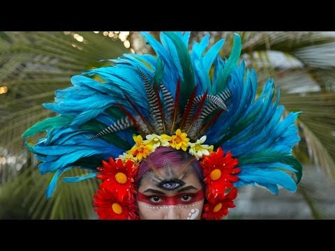 Feather / Flower Headdress ♥ DIY