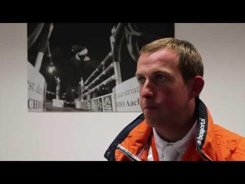 Gerco Schroder twee keer foutloos in Aken, interview Hoefslag
