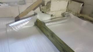 видео Баня из газоблоков своими руками
