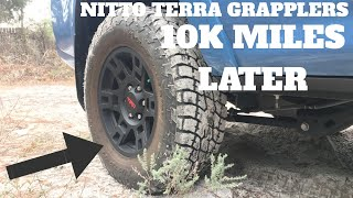 NITTO TERRA GRAPPLERS 10K MILES LATER