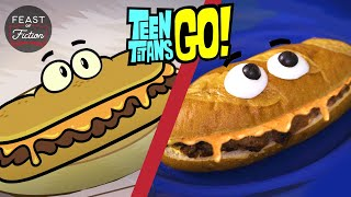 How to Make Vegan Cheese Steak from Teen Titans Go!  Feast of Fiction  Food IRL In Real Life