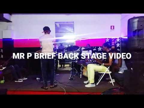 Mr P - BackStage @ Special Live Concert