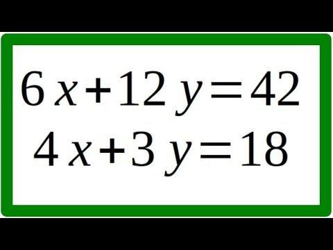 Sistema De Ecuaciones 2x2 Método Gauss-Jordan Ejemplo 2