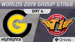 CG vs SKT Highlights Worlds 2019 Main Event Group Stage Clutch Gaming vs SK Telecom T1 by Onivia