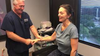 """Yellowknife Canada Lady Flies South To Get The Infamous """"Ring Dinger"""" From Houston Chiropractor"""
