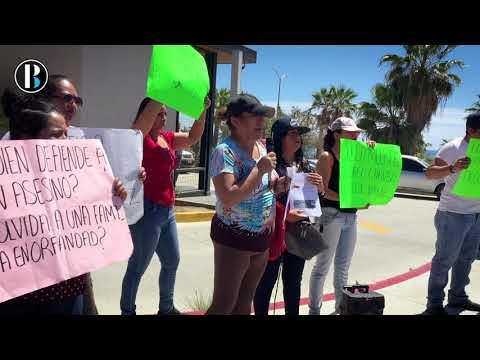 Ante la posible liberación del presunto homicida de Diego Chávez, familiares protestan en San Jose
