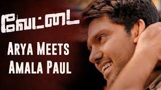 Vettai - Arya Meets Amala Paul | R. Madhavan, Arya, Amala Paul, Sameera Reddy | N.Lingusamy