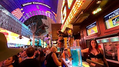 FREMONT STREET LAS VEGAS NIGHT SCENES JUNE 2019