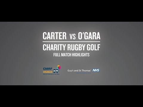 Ronan O'Gara v Dan Carter Rugby Golf