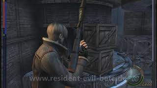 Resident Evil 4 Beta Tower and Towerboss Area