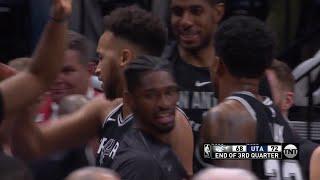 3rd Quarter, One Box Video: Utah Jazz vs. San Antonio Spurs