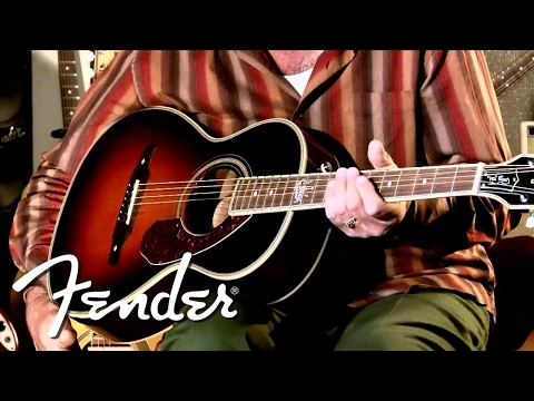 Ron Emory on his Fender