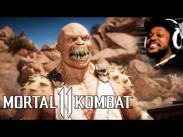 MK11 GAMEPLAY MADE MY HEADPHONES FLY OFF lol   Mortal Kombat 11