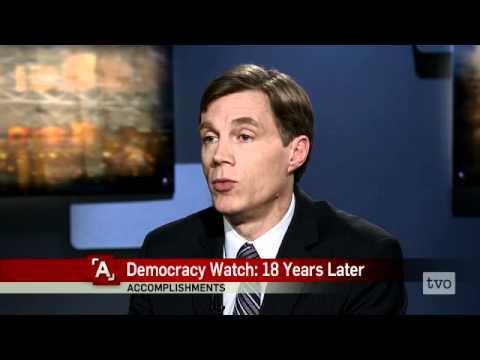 Duff Conacher: Democracy Watch, 18 Years Later
