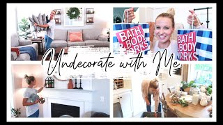 SUMMER UNDECORATE WITH ME 2020 | BATH & BODY WORKS FALL HAUL