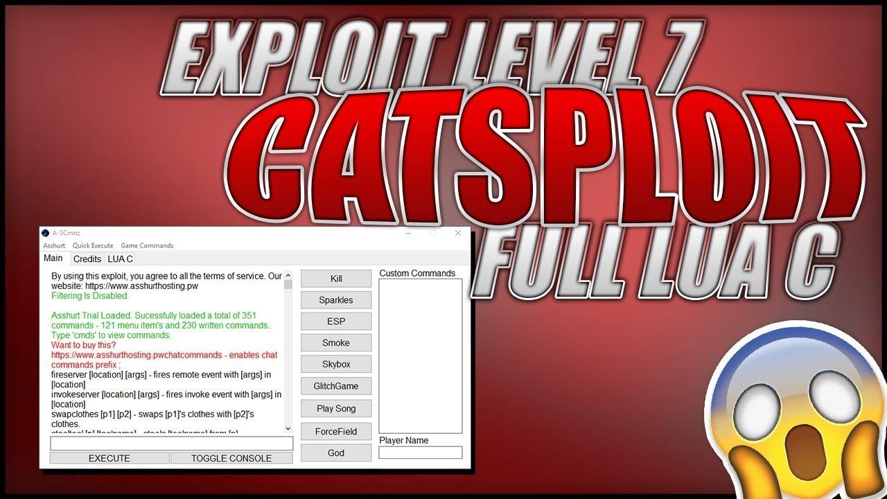 🔥 [WORKING] 🔥 ROBLOX EXPLOIT LEVEL 7 Catsploit FULL LUA C, JAILBREAK,  AUTO-ROB