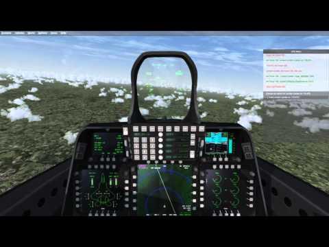 [P3D] RAF Coningsby (EGXC) - London City Airport (EGLC) | Iris F-22 Raptor