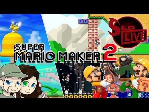 🛠 Super Mario Maker 2 005 Open Queue Pt. 1! | SLD Live 🛠