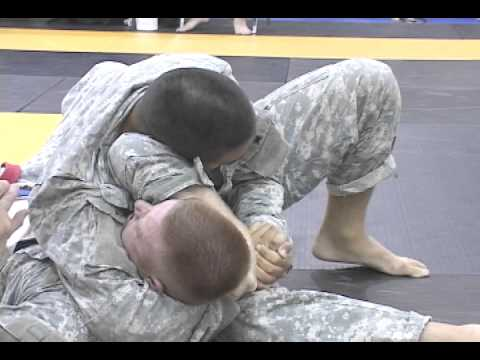Virginia Guard Soldiers Compete In All-Army Combatives