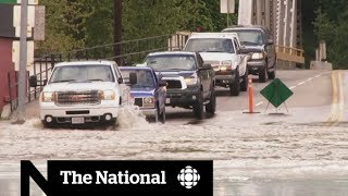 Warm weather unleashes devastating floods in B.C.