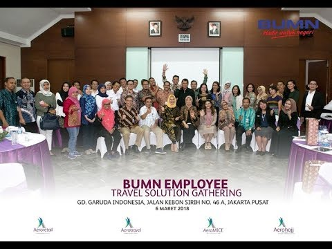 BUMN Employee Travel Solution Gathering with PT Aero Globe Indonesia