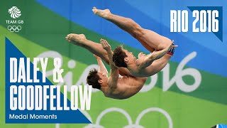Rio 2016 Medal Moments: Daniel Goodfellow & Tom Daley - Bronze | Diving
