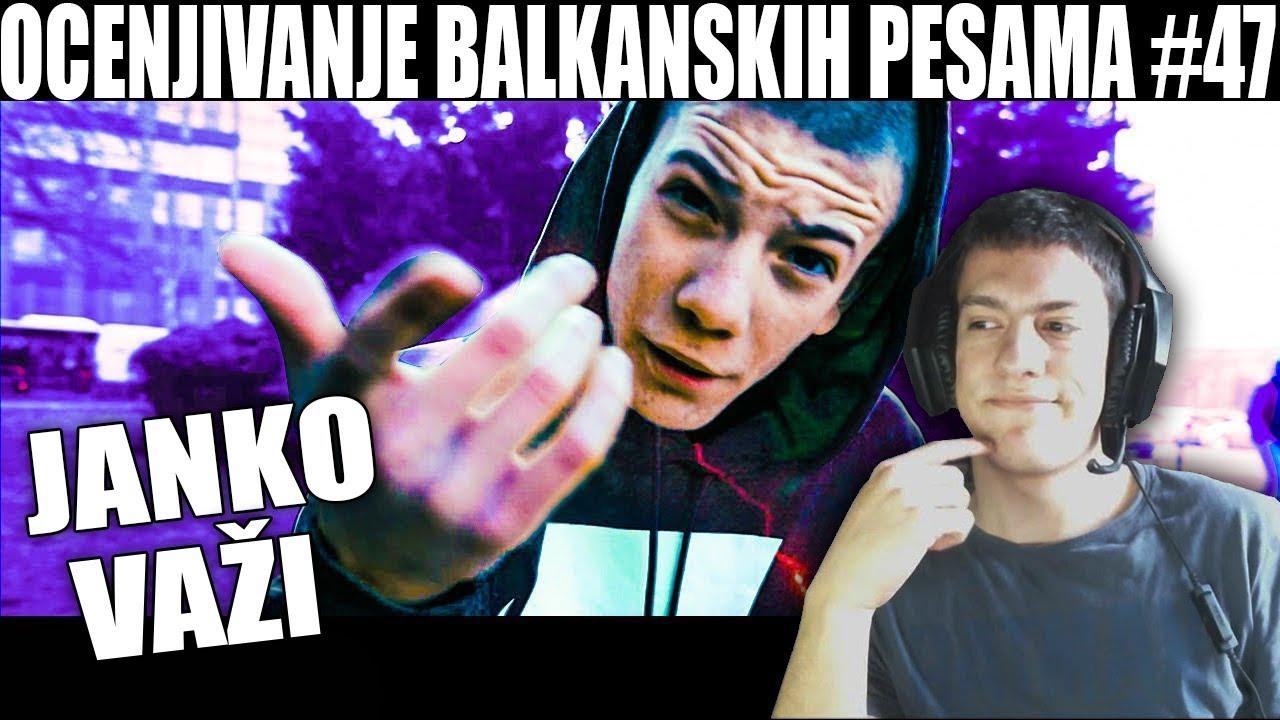 OCENJIVANJE BALKANSKIH PESAMA — JANKO — VAŽI (Official Music Video)