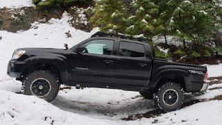 Tacoma Snow Overlanding - Oregon High Country