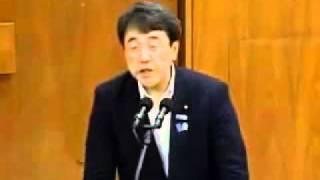 2011年7月29日 経済産業委員会 海江田万里さん泣く