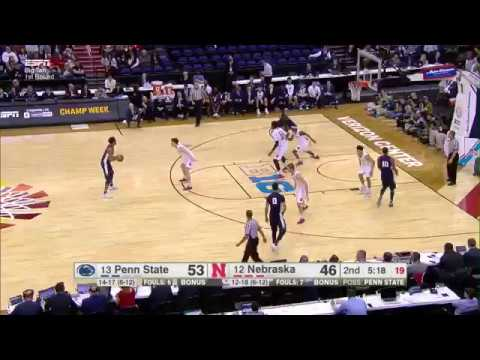 Mike Watkins Two-Handed Slam vs. Nebraska