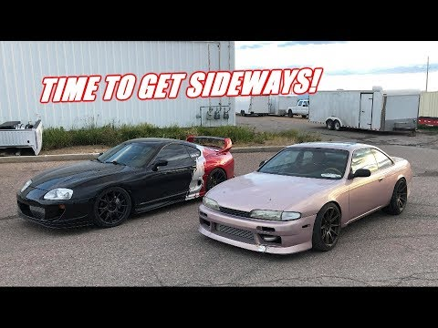 The S14 Is Ready To Drift!