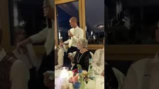 Свадьба в Германии,  поздравление отца невесты и брата жениха, 31.08.2019г.