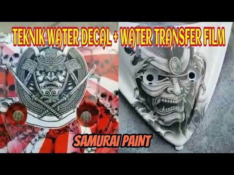 TEKNIK WATER DECAL + WATER TRANSFER FILM