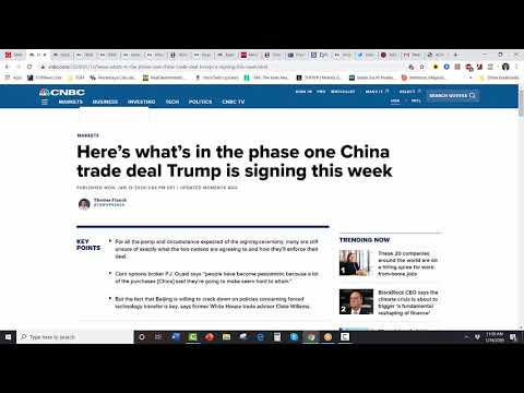 [SITREP] Sell the Trade Deal (?)