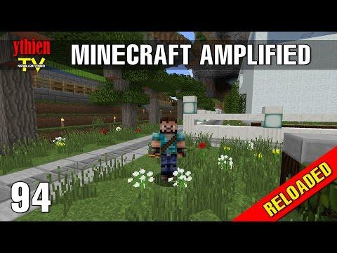 Minecraft Amplified RELOADED 94 - Trang Trí Quanh Nhà