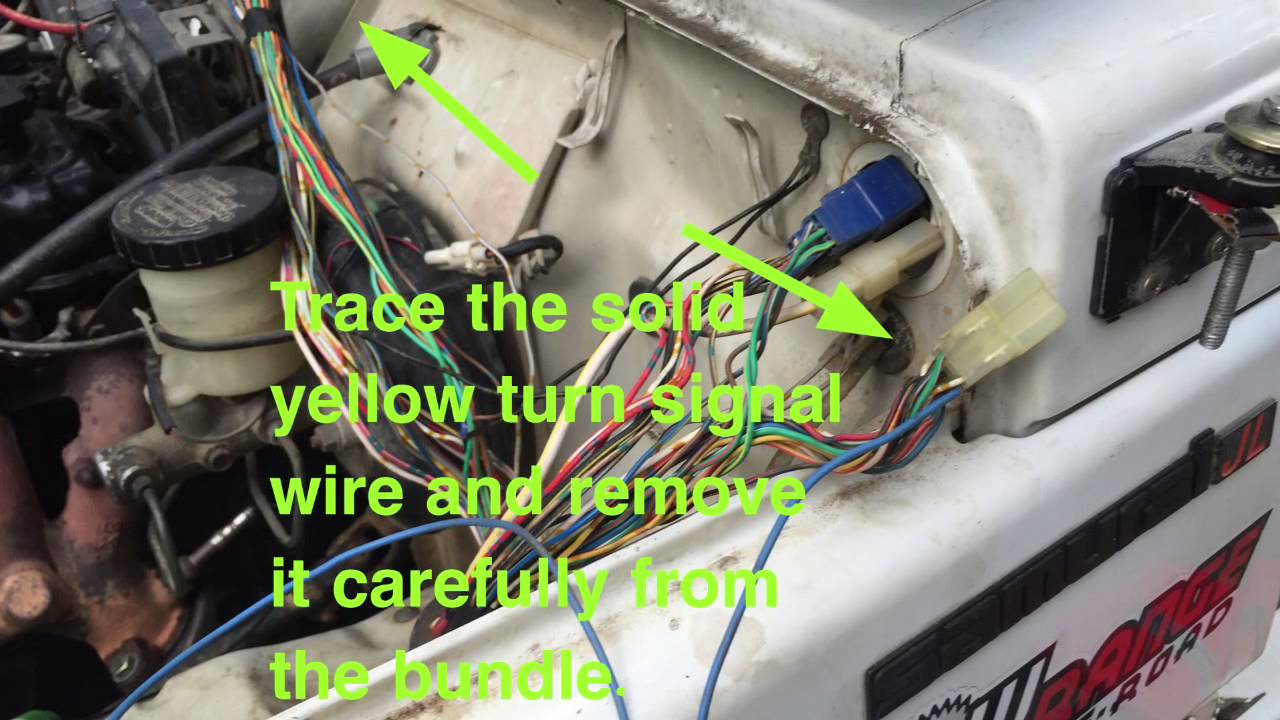 Samurai Turn Signal Fix 000 Youtube Suzuki Wiring Diagram