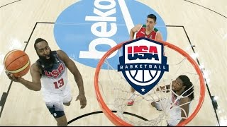 Team USA Full Highlights vs Mexico 2014.9.6 - Raining Threes, Every Play!