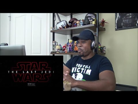 STAR WARS 8 Resist It Rey Trailer - REACTION!!!