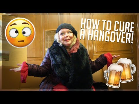 MY MUM TEACHES YOU HOW TO CURE A HANGOVER! **helpful**