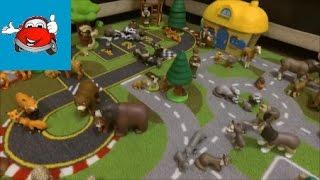 Видео для детей  Животные леса  Коллекция от #ДеАгостини  Обзор игрушек  DeAgostini