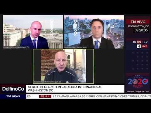 Elecciones Presidenciales en Estados Unidos: Trump vs. Biden Entrevista a Sergio Berensztein.