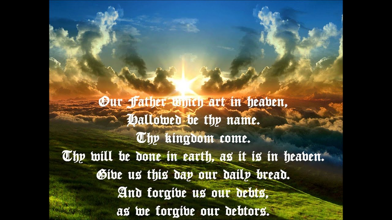 Free Fall Christian Desktop Wallpaper The Lord S Prayer From The King James Bible Dramatized