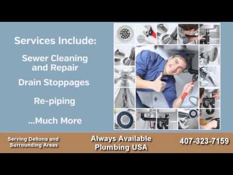 Always Available Plumbing USA  - Plumber in Deltona, FL